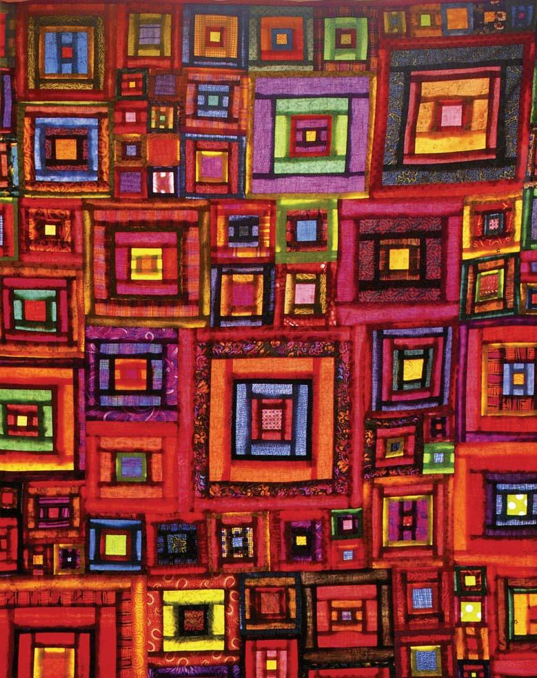 Visit:  Kaffe Fassett at the American Museum